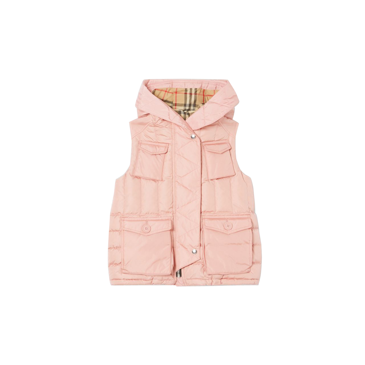 Burberry Down-filled Hooded Puffer Gilet