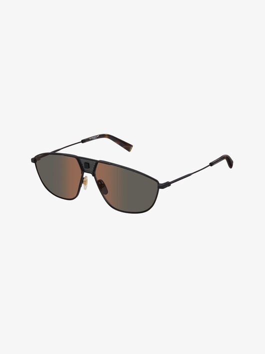 Givenchy Unisex GV Mesh sunglasses in metal