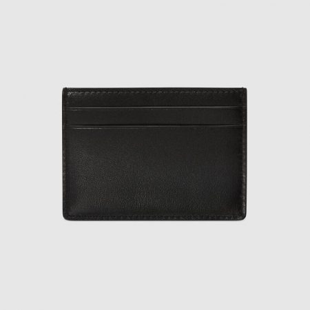 Gucci Card case with Gucci Blade embroidery
