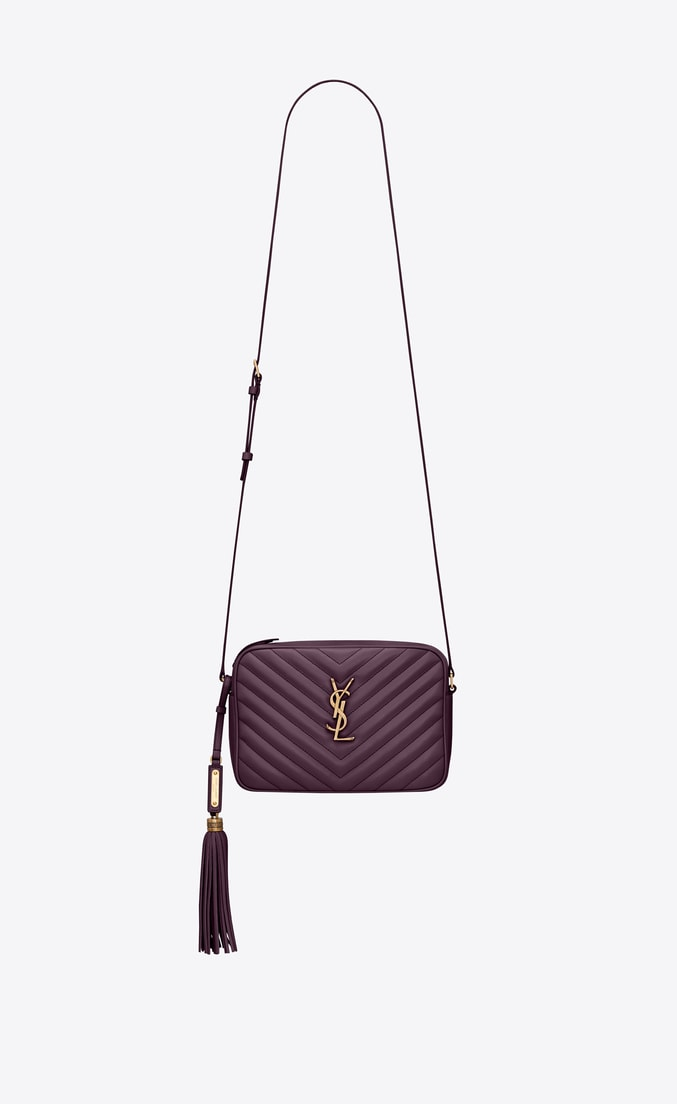 Saint Laurent Lou Camera Bag in Quilted Leather
