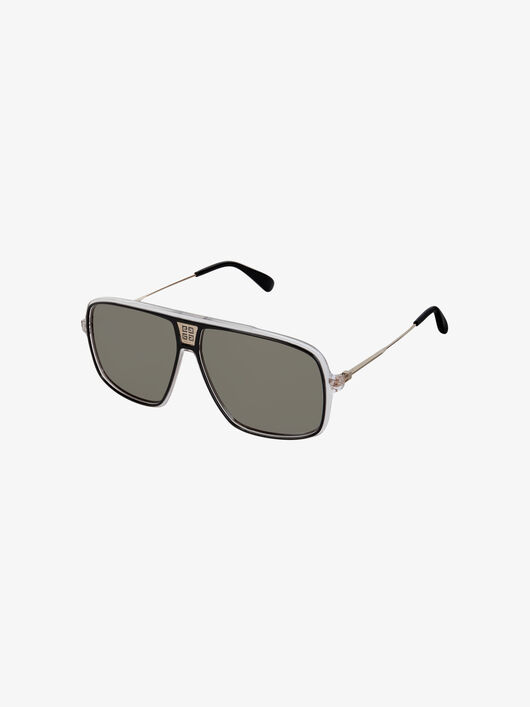 Givenchy Unisex sunglasses in acetate and mesh metal