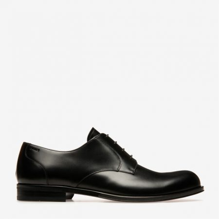 Bally FRIDOM MENS PLAIN CALF LEATHER DERBY lace ups IN BLACK