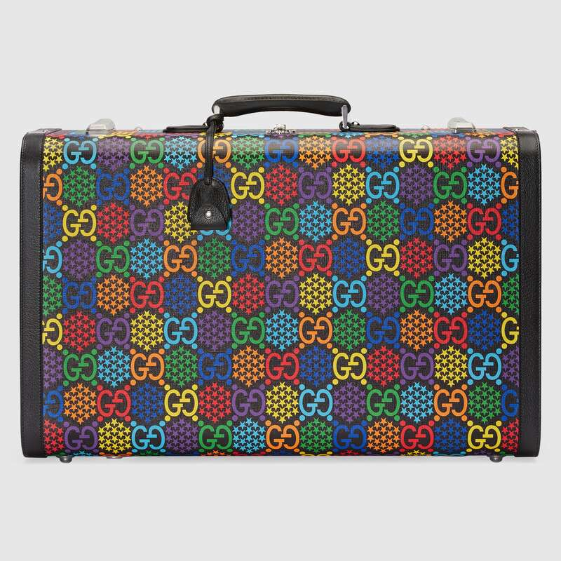 Gucci Large GG Psychedelic suitcase