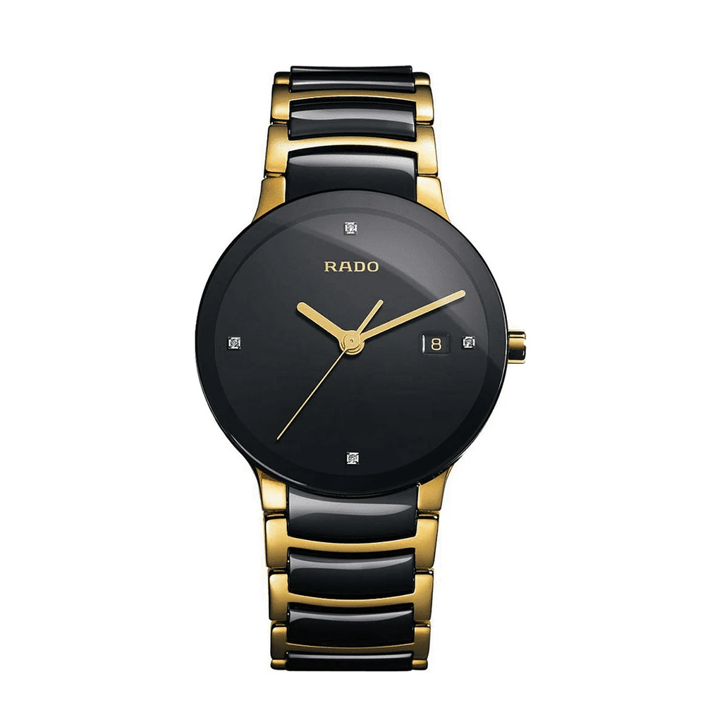 Rado Centrix Jubile Gold Plated Stainless Steel Watch