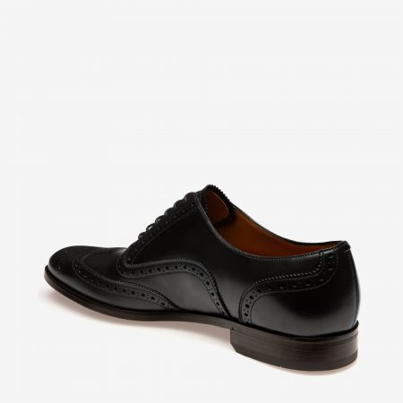 Bally BRUCK Men's leather Oxford lace ups in black