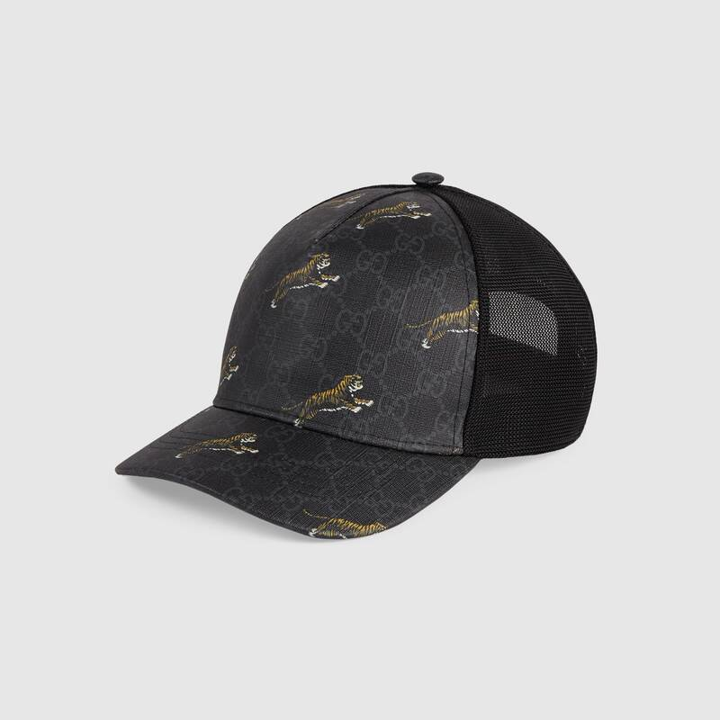 Gucci GG baseball hat with tigers