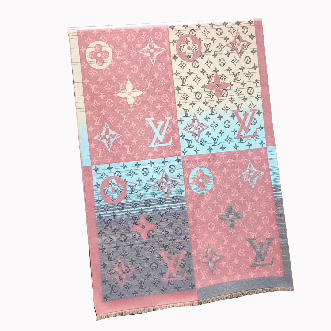 Louis Vuitton styled Multicolor scarf