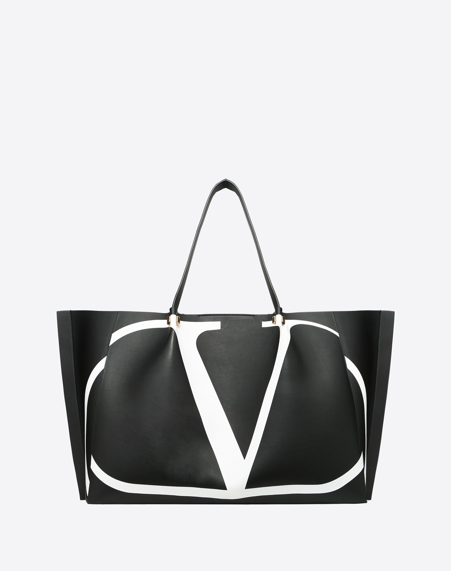 Valentino Large VLOGO Escape Shopper With Inlay Detail