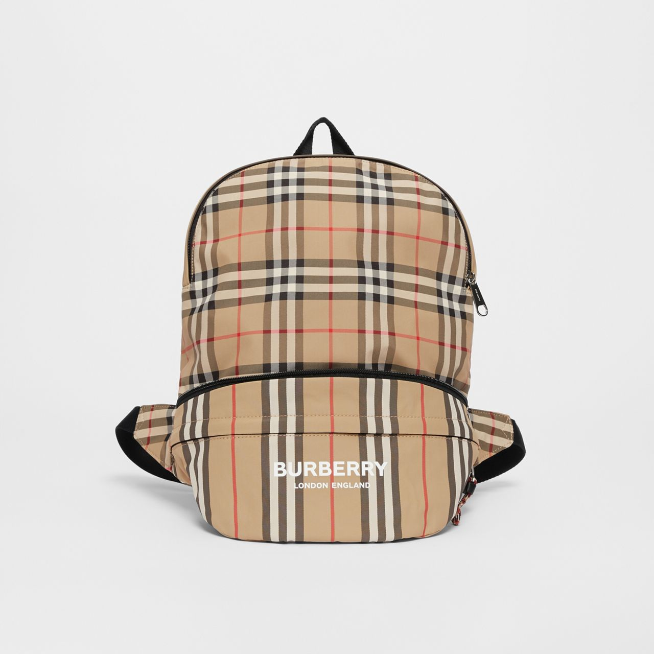 Burberry Vintage Check and Icon Stripe Convertible Bum Bag